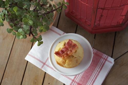 Muffins de tocineta