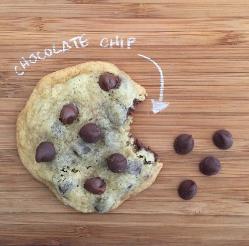 Galletas chocolate chip