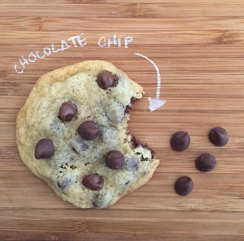 Galletas chocolate chip